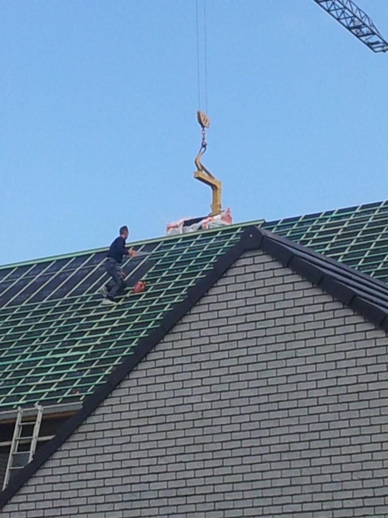 Installation d'une toiture